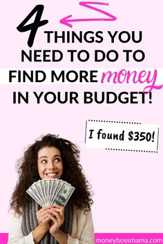 If you need to reduce your monthly expenses then you need these 4 money-saving tips. Even if you think there's nothing else you can reduce in your budget, chances are there is! Household Expenses, Monthly Expenses, Budgeting Finances, Budgeting Tips, Ways To Save Money, Money Tips, Financial Tips, Financial Planning, Money Saving Mom