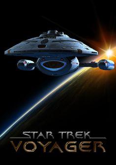 TV or Movie Poster o/t Week - Star Trek: Voyager. Find fellow Trekkies at https://createamixer.com/