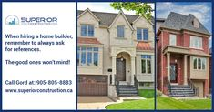 Building a new home is the largest investment, Hire a right person to create a home that is uniquely yours. Custom Home Builders, Custom Homes, Richmond Hill, North York, Building A New Home, Luxury Homes, New Homes, Construction, Mansions