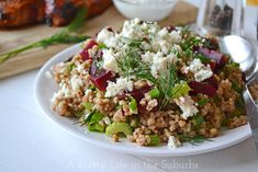 Making this with Quinoa instead of Kasha and maybe swapping out the feta for blue cheese...