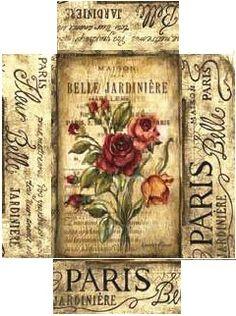Boite rectangulaire belle jardinière. ..♥..Nims..♥