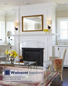Looking for something similar for your home? Visit our website at: www.wainscotsolutions.com