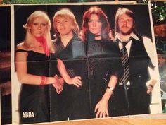 ABBA poster dutch magazine 1978 på Tradera.com - A-C Posters | Posters