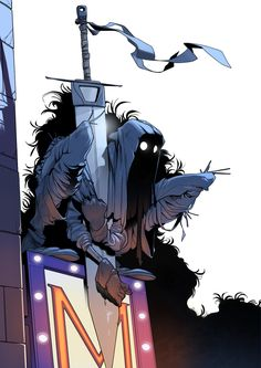 Rumble fanart by Gabriel Gómez Fantasy Character Design, Character Drawing, Character Design Inspiration, Character Concept, Image Manga, Dark Fantasy Art, Character Design References, Creature Design, Fantasy Characters