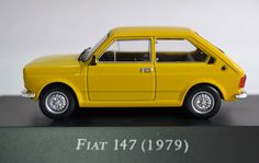 The Fiat 147 brought to Brazil the small car concept which exists in the world today.
