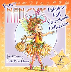 Great #books for #fall! Fancy Nancy's Fabulous Fall Storybook Collection