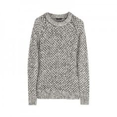 NUDE! Theory chunky knit sweater