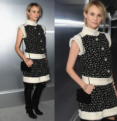 diane kruger @ chanel haute couture show.