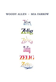 Woody Allen (1983) Zelig [Mia Farrow] | M258