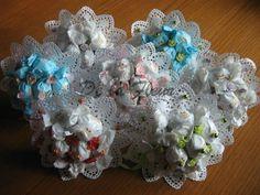 kytičky z 9ks italských čokoládobých bonbónků