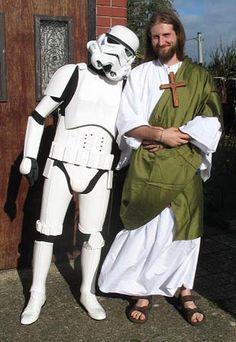 Stormtrooper and Jesus by Content-Josho on DeviantArt