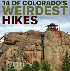 14 of Colorado's Weirdest Hikes- Tanks that Get Around is an online store offeri. - 14 of Colorado's Weirdest Hikes- Tanks that Get Around is an online store offering a selection of - Denver Travel, Travel Usa, Hiking Places, Places To Travel, Travel Destinations, Colorado Springs, Camping And Hiking, Hiking Trails, Backpacking