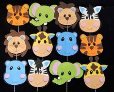 Cute Monkey Craft For Kids (With Free Printable Template) Kids Crafts, Animal Crafts For Kids, Foam Crafts, Preschool Crafts, Diy And Crafts, Paper Crafts, Recycled Crafts, Jungle Theme Birthday, Jungle Party