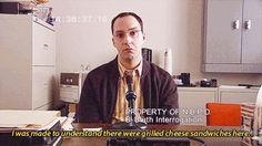 37 Signs you might be Buster Bluth. Arrested Development. Reason 1: You wont do anything unless food is involved: