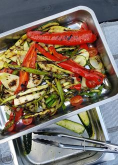 Using a Charcoal Grill Always Hungry, Charcoal Grill, Pasta Salad, Vegan Recipes, Vegan Food, Green Beans, Barbecue, Foodies, Food And Drink