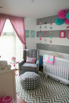 Les petites filles adorent cette chambre tout comme leurs mères