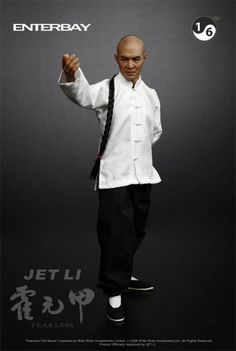 JET LI playing as The Great Master Huo Yunjia in the movie FEARLESS