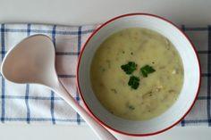 Krémová polievka z hlivy ustricovej za pol hodinku na stole! - Fitshaker
