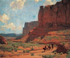Paintings of the desert by Edgar Payne - Google Search