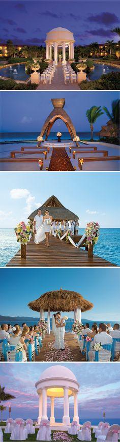 Pretty Gazebos for your Destination #Wedding