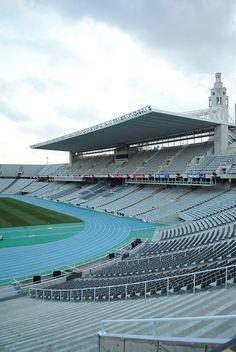 Barcelona - Estadi Olimpic by demiante, via Flickr