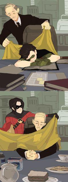 Superman X Batman, Batman Robin, Marvel Dc Comics, Tim Drake Batman, Alfred Batman, Drake Art, Batfamily Funny, Superfamily Avengers, Dc Memes