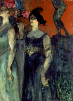 Messaline Museum: Buehrle Collection Artist: Henri de Toulouse Lautrec