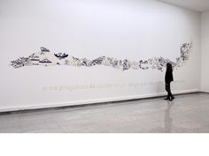 "Livia Marin's ceramic art ""Cosas rotas I"" and ""Cosas rotas II"""