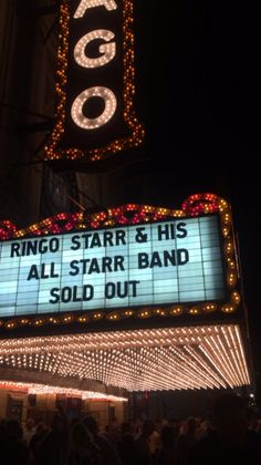 Ringo Starr concert at Chicago Theater