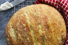 Deliciously simple, this moist artisan-style bread requires no mixers or kneading, just a little time and a Dutch oven!