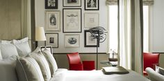 Jaeger Neighbourhood Chichester: The Goodwood Hotel Boutique Bedroom Ideas, Boutique Hotel Room, Boutique Hotels, Gallery Wall Bedroom, Hotel Room Design, Country Hotel, Hotel Decor, Hotel Suites, Interior Design Inspiration