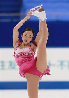 全日本選手権で女子で4位となった本田真凜のフリーの演技(松永渉平撮影)