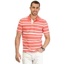 Striped Performance Deck Polo Shirt - Salmon. Get Sizzling discounts up to 50% Off at Nautica using Coupon and Promo Codes.