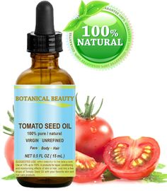 TOMATO SEED OIL. 100% Pure / Natural / Virgin / Undiluted / Cold Pressed for Skin, Hair and Lip Care. 0.5 oz.- 15ml. -- You can get more details here : Face Oil and Serums
