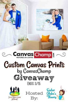 CanvasChamp will help you turn your most cherished photos into beautiful works of art. Print your photos as high-quality canvas prints at any size from x to x Cheap Canvas Prints, Custom Canvas Prints, Canvas Art, Prize Giveaway, Print Your Photos, Photo Canvas, New Age, Beautiful Words, Champs