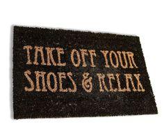 Take Off your Shoes Bejárati szőnyeg 40x60 cm - Vivre