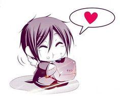 Kuroshitsuji - Sebastian is too cute!