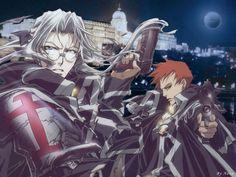 Dark Fantasy Art, Dark Art, Anime Forum, Blood Wallpaper, Manga Anime, Anime Art, Trinity Blood, Blood Anime, Hot Anime Guys