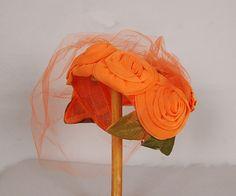 Vintage hat, Nod to Mod Vintage, on Etsy Vintage Fashion 1950s, Mode Vintage, Vintage Hats, Victorian Fashion, 1930s Fashion, Vintage Purses, Steampunk Fashion, Gothic Fashion, Fashion Fashion