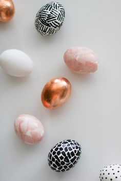 These trendy easter eggs are so cute