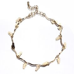 Golden 18k Plated Gold Anklet Chain for Feet Decoration