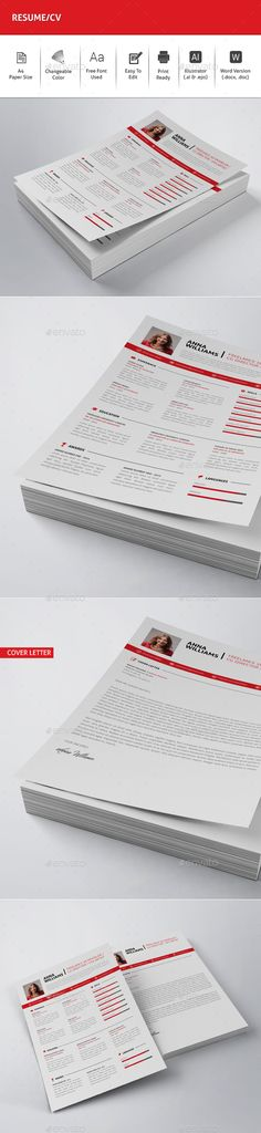 Resume Template PSD, Vector EPS, AI Download here   - graphic design resume template download