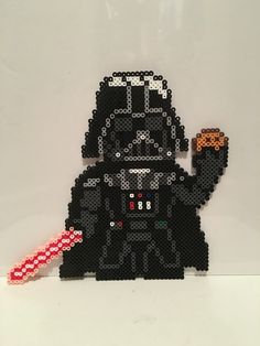 Star Wars - Darth Vader with Cookie Perler Beads by Rachel's Dreamland