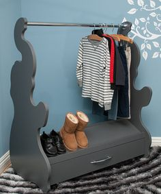 Another great find on #zulily! Gray Elephant Mobile Closet #zulilyfinds