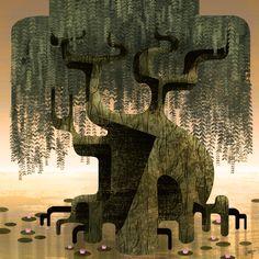 """""""Green Tree"""" - February 2011"""