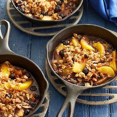 Peach-Blueberry Crisp