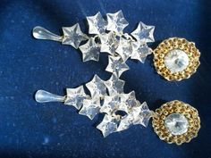 80's glam  Huge clip earrings, Geri's Jewels july show sold