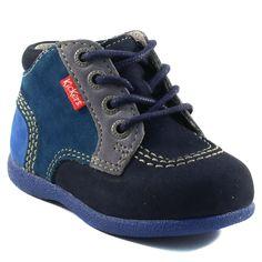 147A KICKERS BABYSTAN MARINE www.ouistiti.shoes le spécialiste internet  #chaussures #bébé, #enfant, #fille, #garcon, #junior et #femme collection automne hiver 2016 2017
