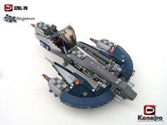 """Blue Vengeance"" LEGO StarWars MOC"