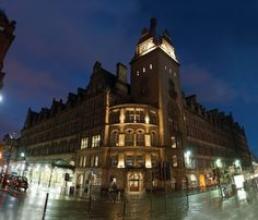 The fabulous Grand Central Hotel in Glasgow - which is actually in the train station